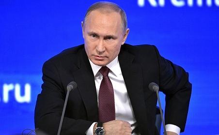 Вполдень помск стартует огромная пресс-конференция В.Путина
